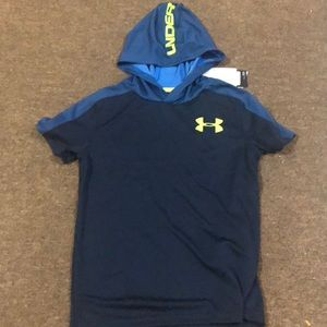 Under armor short sleeve hoodie
